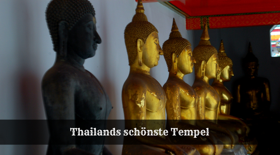 Thailands Tempel - Must See von Sandra Seewald - Journey to Adventure