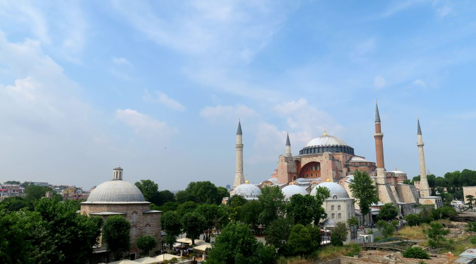 Hagia Sophia Istanbul - Hightlights Türkei für Backpacker